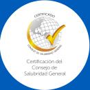 Certificación de Consejo de Salubridad General
